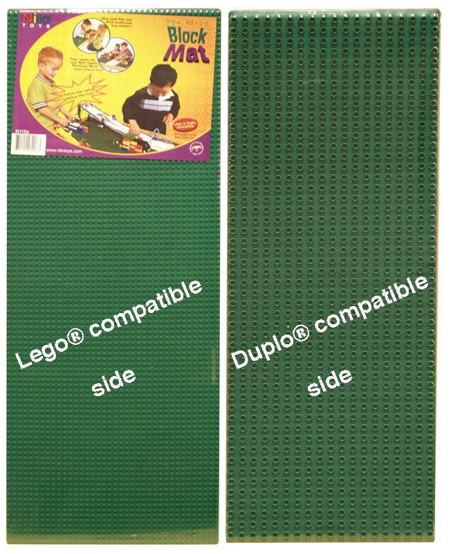 G2 Green Nilo 174 2 Sided Lego Duplo Baseplates Nilo 174 Tables