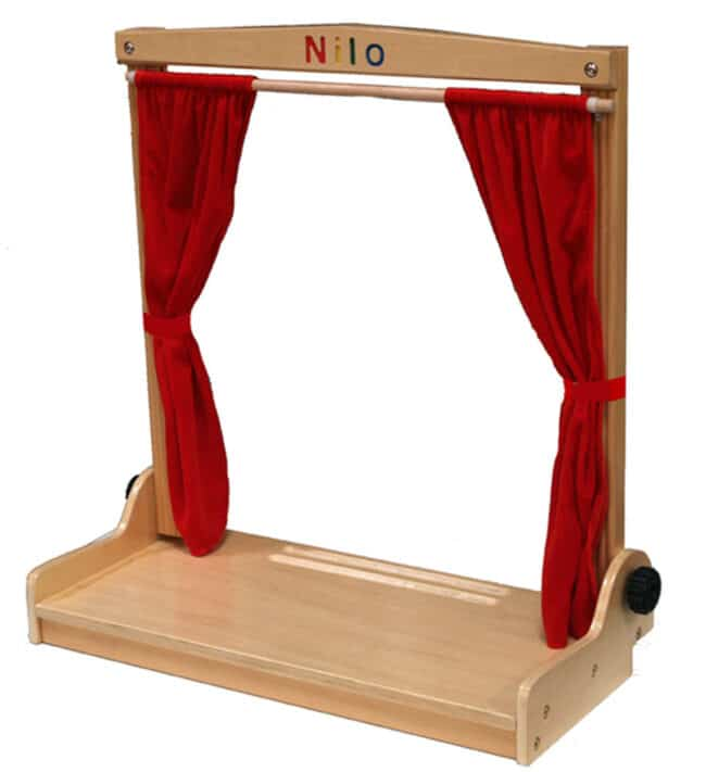 Nilo® Theasel Puppet Theater Use