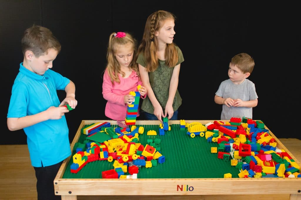 Nilo® Lego Duplo Block Table