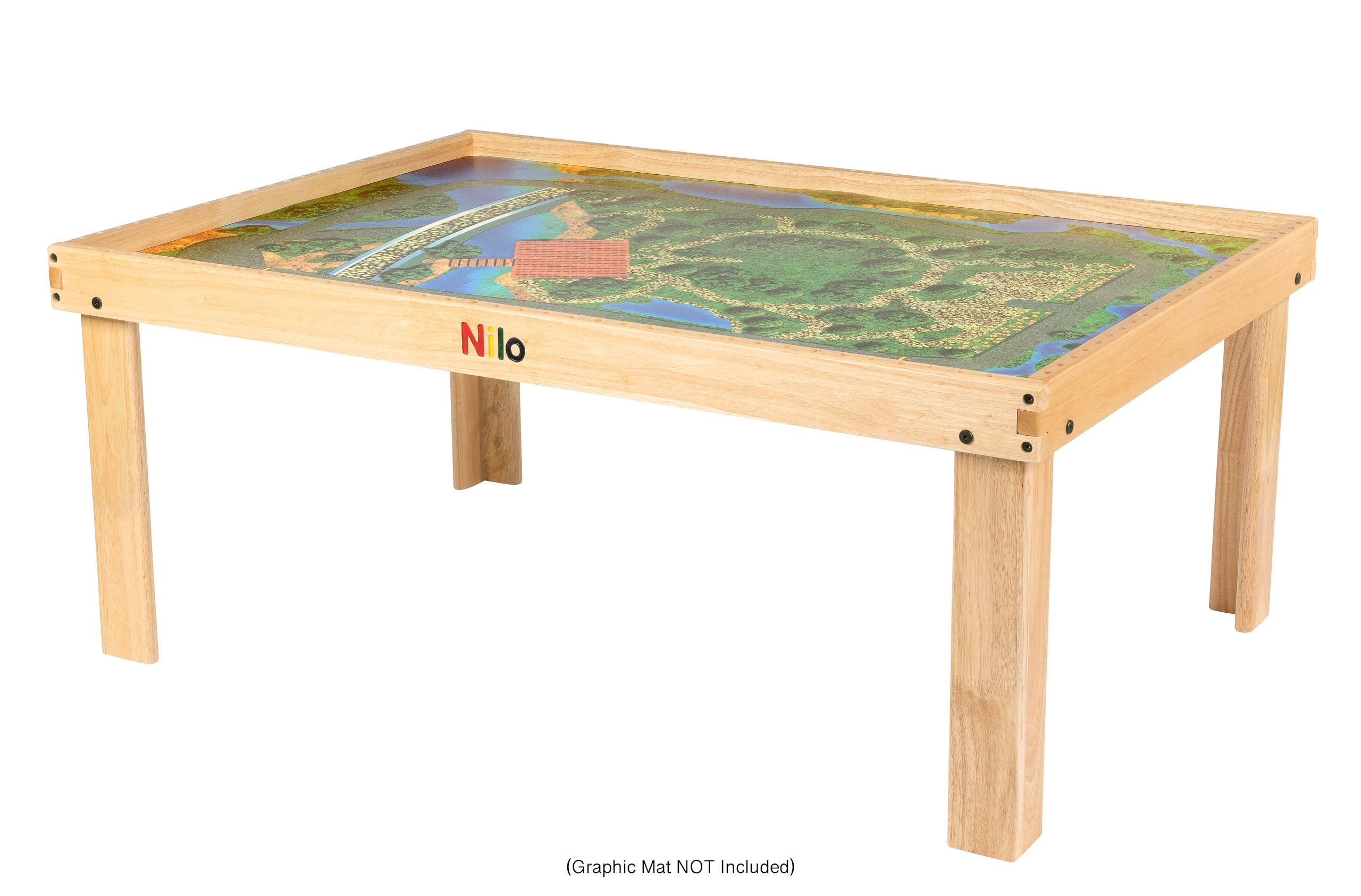 Large Activity Table with graphic play mat