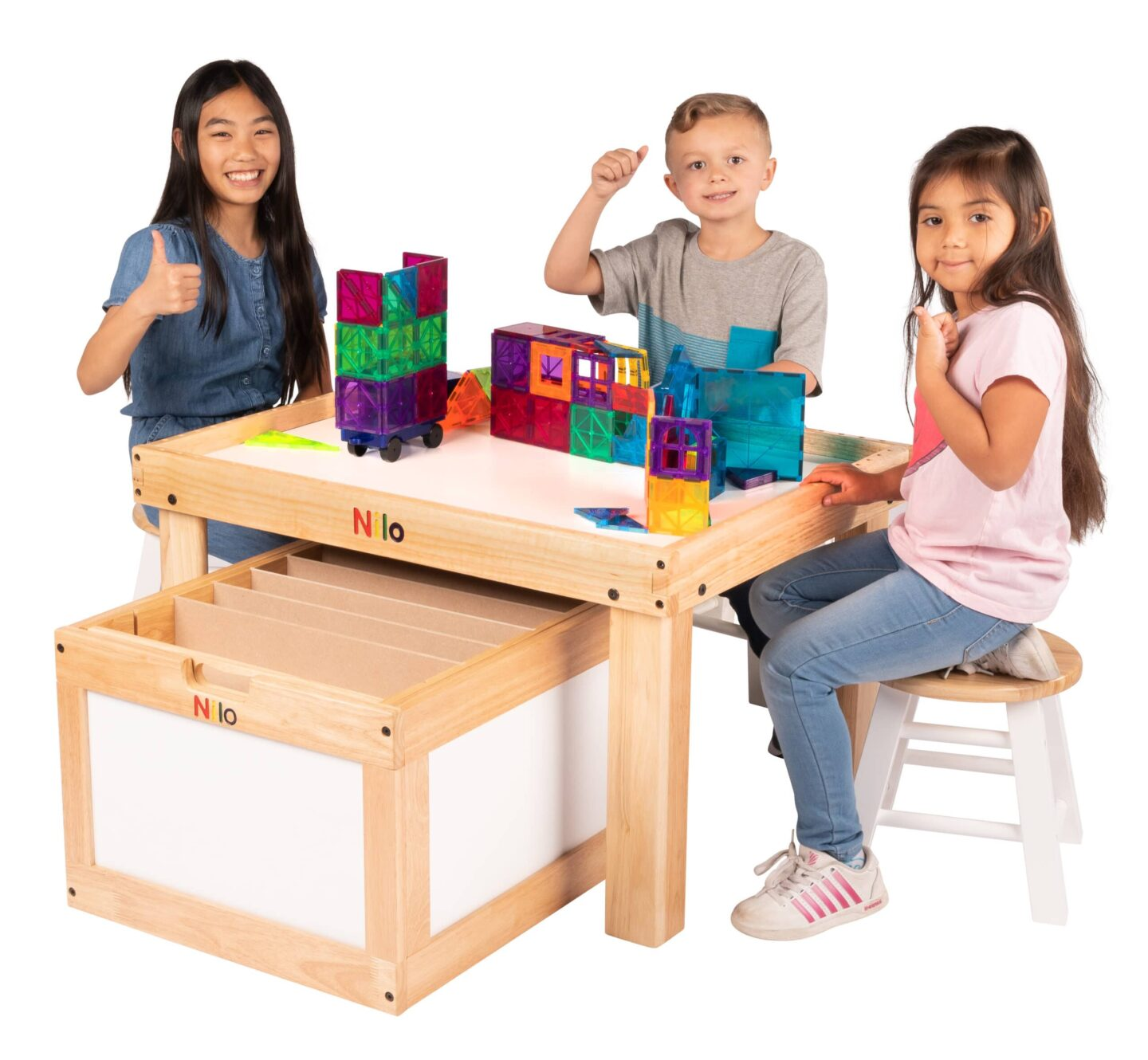 PHOTOS, PHOTOS AND MORE PHOTOS OF OUR NILO LEGO TABLE & PRODUCTS IN USE!