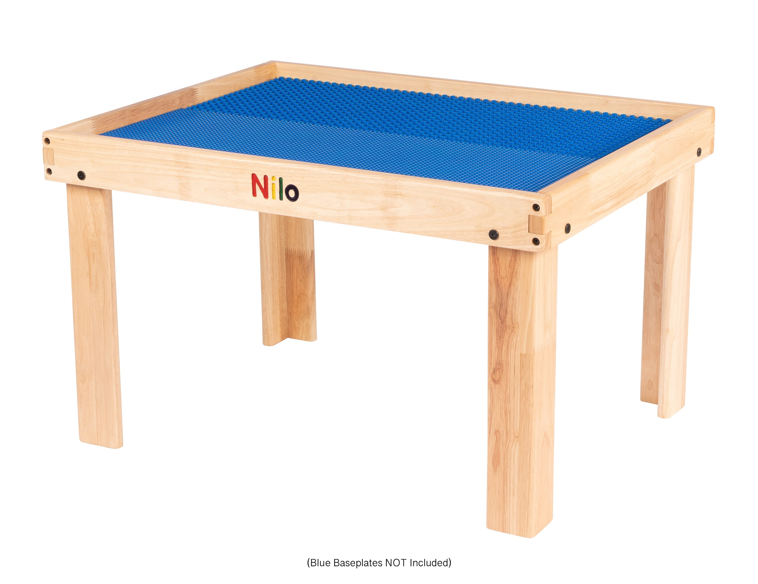 Small Activity Table showing blue baseplates