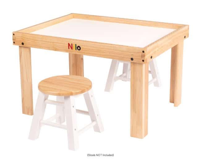 Small Activity Table showing stools