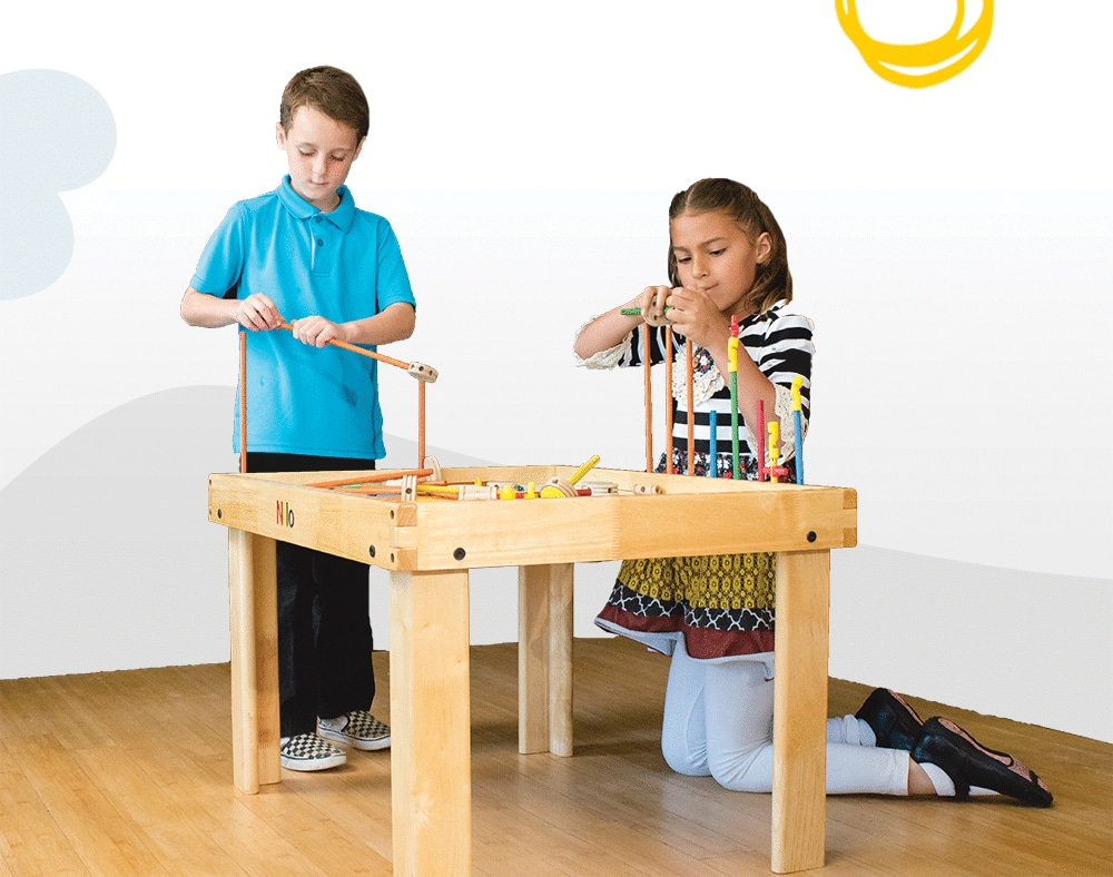 Childrens play tables
