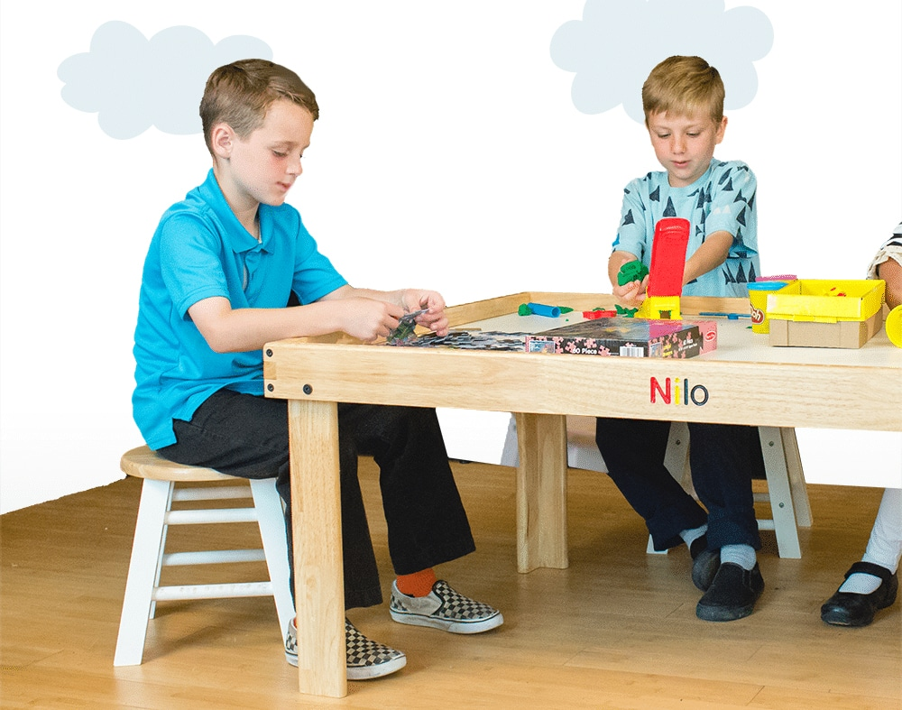 Play Tables Storage & Seating