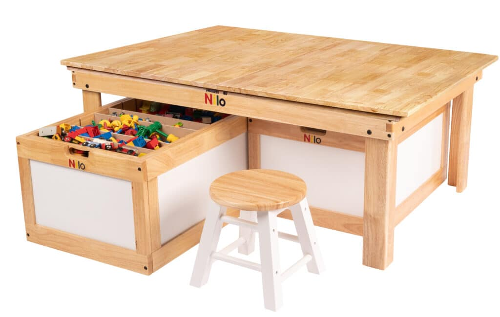 activity tables for kids, dining top, coffee top, storage bin, stool, activity tables for toddlers
