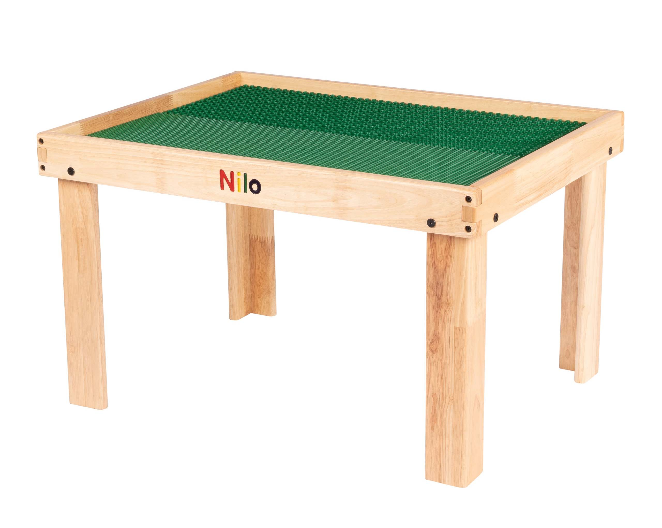 toddler activity table lego table with green baseplates for lego duplo